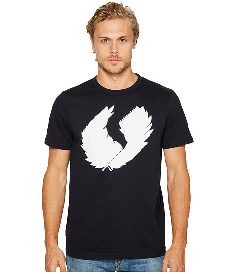 Imbracaminte Barbati Fred Perry 3D Laurel Wreath T-Shirt Navy
