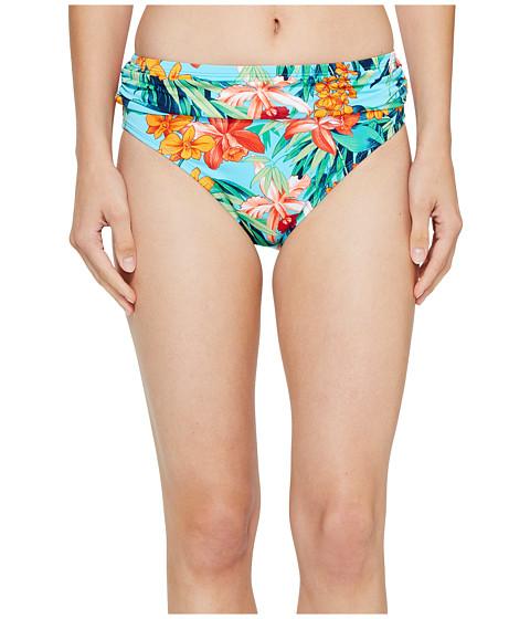 Imbracaminte Femei Tommy Bahama Floriana High-Waist Sash Bikini Bottom True Turquoise