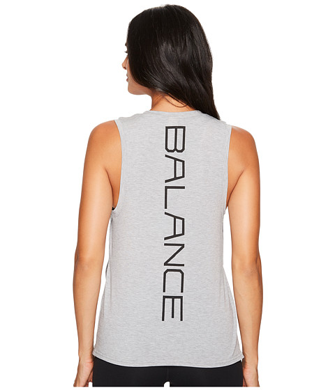 Imbracaminte Femei New Balance Graphic Layering Tank Top Athletic Grey