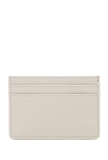 Genti Femei Halogen Leather Cardholder GREY OPAL