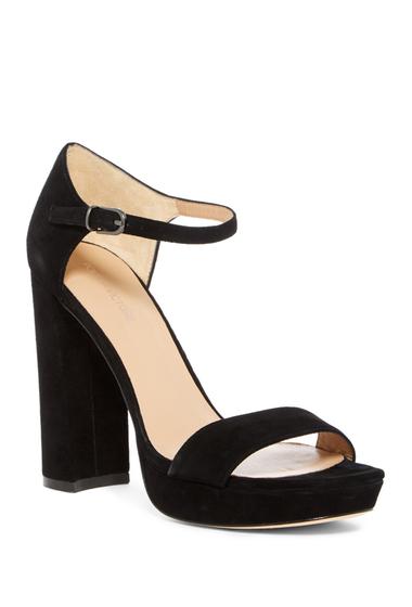 Incaltaminte Femei Pour La Victoire Yvette Platform Sandal BLACK