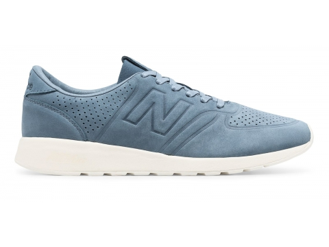 Incaltaminte Barbati New Balance 420 Re-Engineered Blue with White