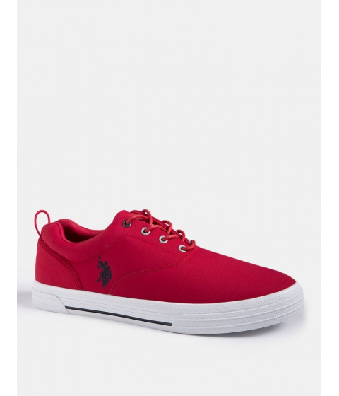 Incaltaminte Barbati US Polo Assn SKIP IN NYLON SNEAKER Engine Red