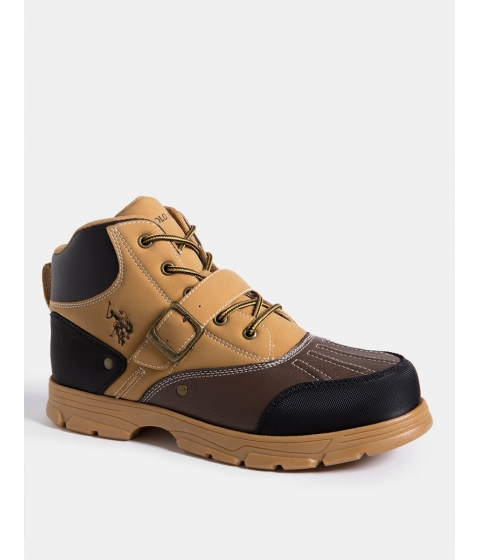Incaltaminte Barbati US Polo Assn KEDGE BOOT WHEAT