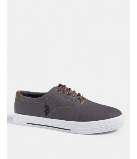 Incaltaminte Barbati US Polo Assn SKIP IN CANVAS SNEAKER GRAY