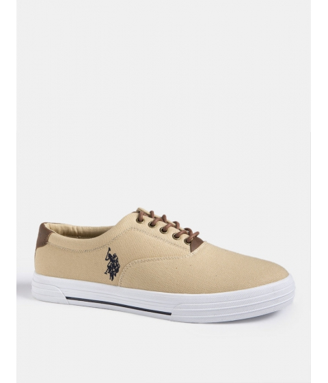 Incaltaminte Barbati US Polo Assn SKIP IN CANVAS SNEAKER KHAKI