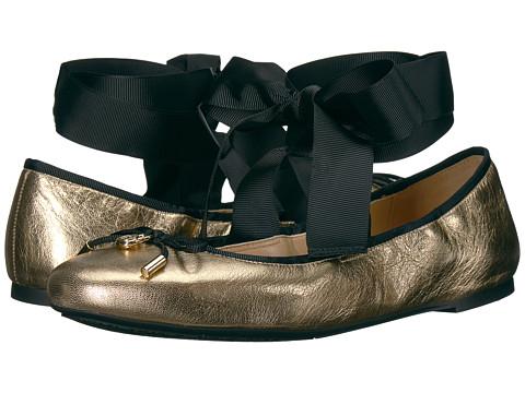 Incaltaminte Femei Michael Kors Myles Ballet Pale Gold