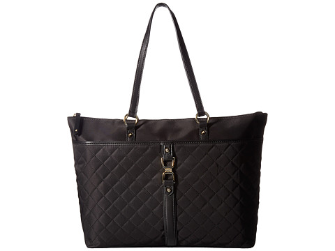Genti Femei Tommy Hilfiger Thea Quilt Nylon Tote Black