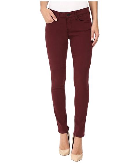 Imbracaminte Femei Mavi Jeans Alexa Mid-Rise Skinny in Burgundy Sateen Twill Burgundy Sateen Twill