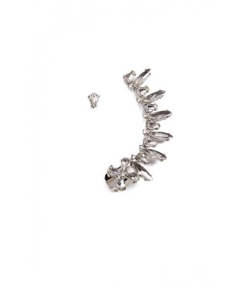 Bijuterii Femei Forever21 Cluster Ear Cuff Stud Earring Set SILVERCLEAR
