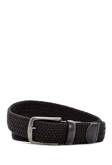 Accesorii Barbati Original Penguin Multi Stretch Woven Belt BLACK