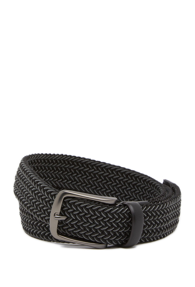 Accesorii Barbati Original Penguin Multi Stretch Woven Belt GREY