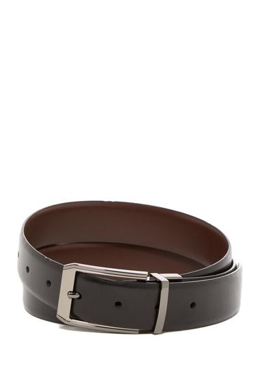 Accesorii Barbati Original Penguin Love Triangle Leather Belt BLK20