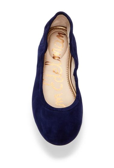 Incaltaminte Femei Sam Edelman Fritz Suede Ballet Flat POSEIDON BLUE