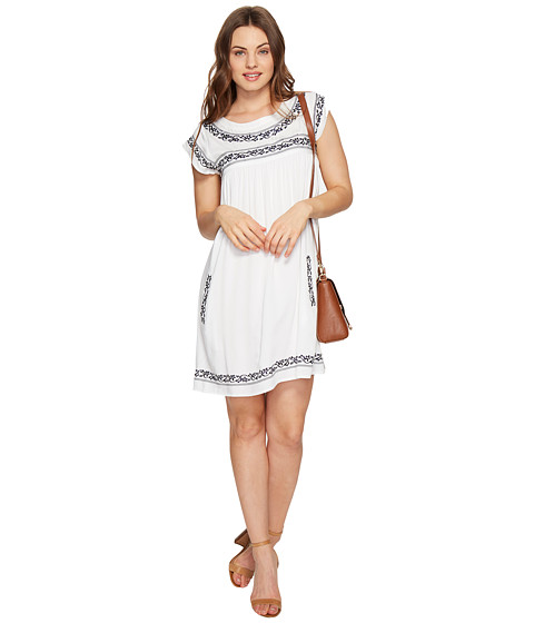 Imbracaminte Femei BB Dakota Raelynn Embroidered Dress White