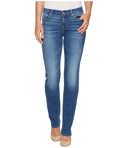 Imbracaminte Femei 7 For All Mankind Kimmie Straight Jeans in Bella Heritage Bella Heritage