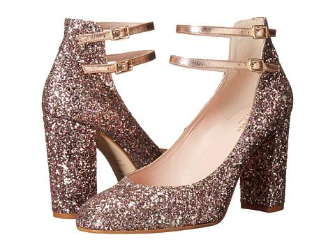 Incaltaminte Femei Kate Spade New York Baneera Rose Gold Multi GlitterMetallic Nappa