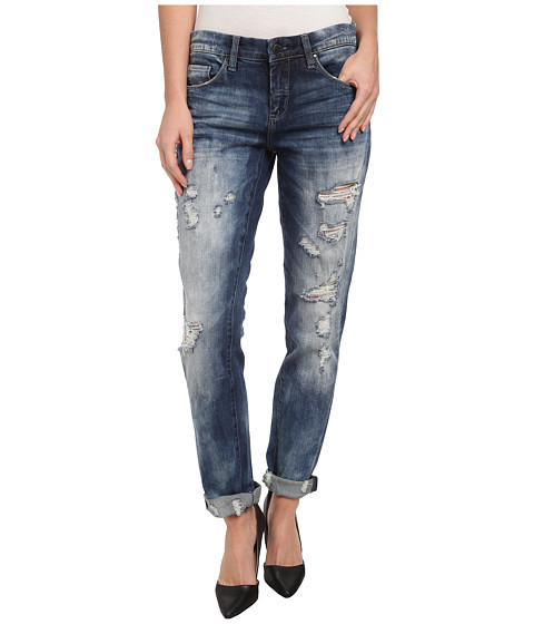 Imbracaminte Femei Blank NYC Distressed Denim Boyfriend Relaxed Straight Jean in Fit Of Rage Fit of Rage