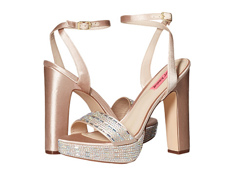 Incaltaminte Femei Betsey Johnson Alliie Champagne