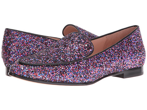 Incaltaminte Femei Kate Spade New York Calliope Purple Multi GlitterBlack Nappa