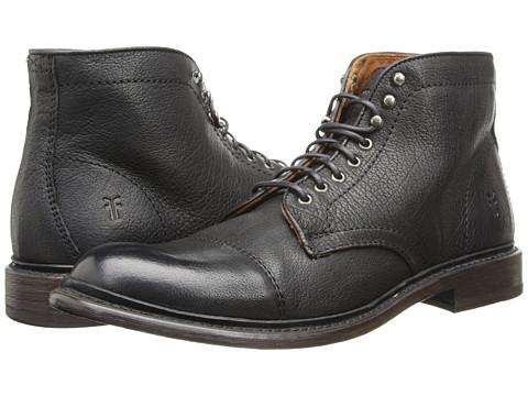 Incaltaminte Barbati Frye Jack Lace Up Black Buffalo Leather