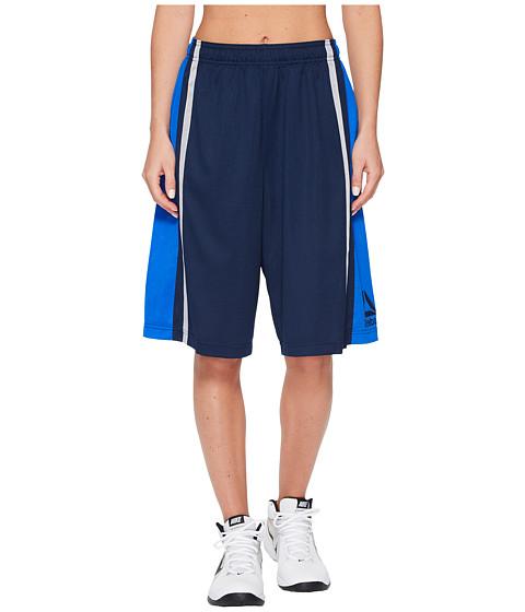 Imbracaminte Femei Reebok Mesh 10in Basketball Shorts - Side Stripe Collegiate Navy
