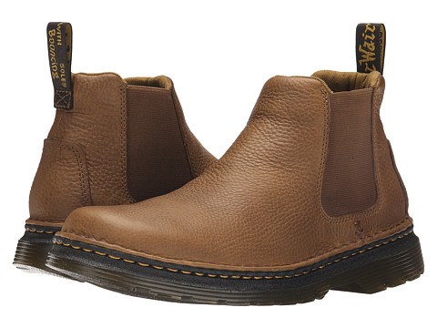 Incaltaminte Barbati Dr Martens Oakford Chelsea Boot TanBiscuit GrizzlyHi Suede WP