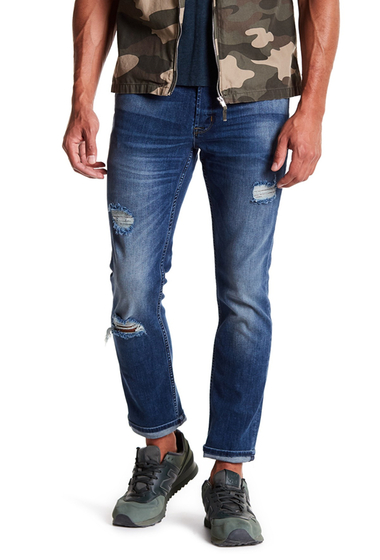 Imbracaminte Barbati HUDSON Jeans Sartor Relaxed Skinny Jeans PLATONIC