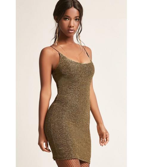 Imbracaminte Femei Forever21 Metallic Cami Bodycon Dress GOLD