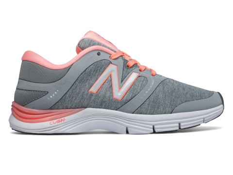 Incaltaminte Femei New Balance Womens New Balance 711v2 Trainer Silver with Pink