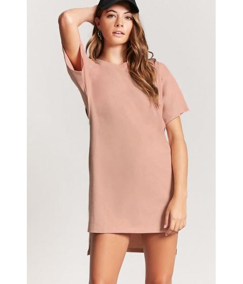 Imbracaminte Femei Forever21 High-Low T-Shirt Midi Dress NUDE