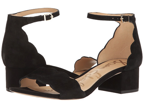 Incaltaminte Femei Sam Edelman Inara Black Kid Suede Leather
