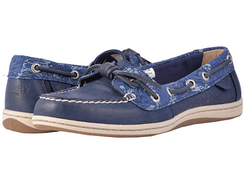 Incaltaminte Femei Sperry Top-Sider Barrelfish Animal Print Navy