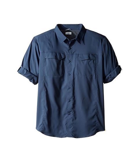 Imbracaminte Barbati Columbia Big and Tall Silver Ridge Lite Long Sleeve Shirt Zinc
