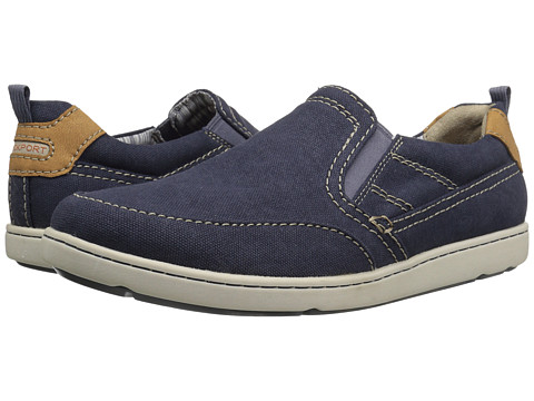 Incaltaminte Barbati Rockport Gryffen Mudguard So Navy Canvas