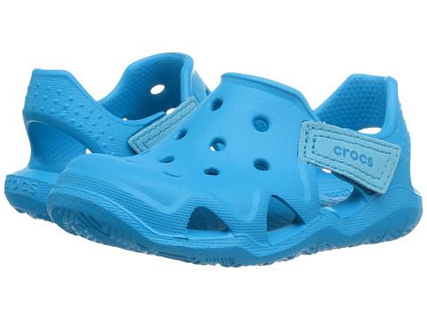Incaltaminte Fete Crocs Swiftwater Wave (ToddlerLittle Kid) Ocean