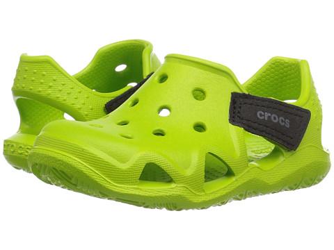 Incaltaminte Fete Crocs Swiftwater Wave (ToddlerLittle Kid) Volt Green