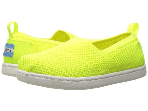 Incaltaminte Fete TOMS Knit Alpargata Espadrille (InfantToddlerLittle Kid) Neon Yellow Mesh
