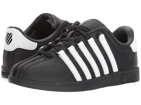 Incaltaminte Fete K-Swiss Classic VN (Little Kid) BlackWhiteWhite