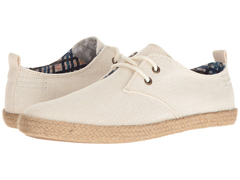 Incaltaminte Barbati Ben Sherman New Prill Lace-Up Off-White Linen