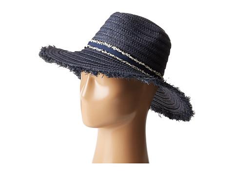 Accesorii Femei Echo Design Capri Panama Hat Navy
