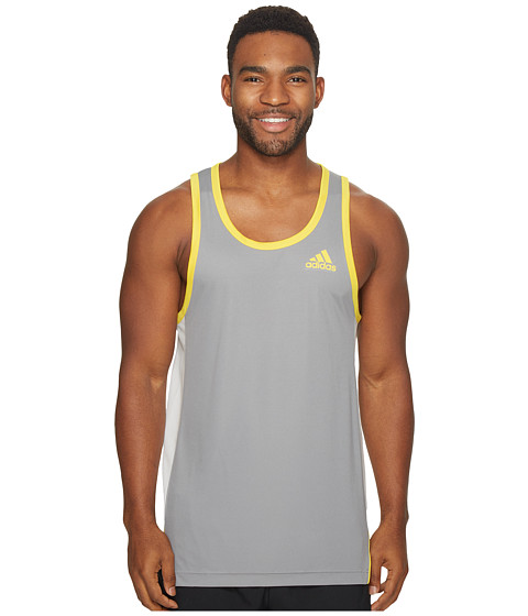 Imbracaminte Barbati adidas FDTN Tank Top Grey 3EGT Yellow