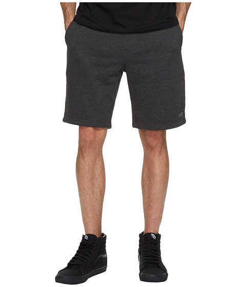 Imbracaminte Barbati 34 Heritage Core Basic Fleece Shorts 20quot Black Heather