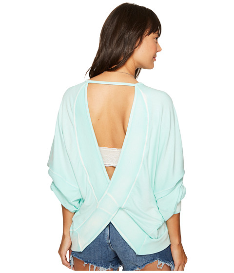 Imbracaminte Femei Free People Back It Up Pullover Mint