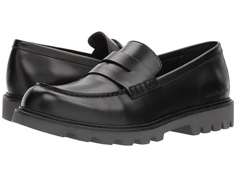 Incaltaminte Barbati Calvin Klein Austin 2 Black Textured NylonBox Calf
