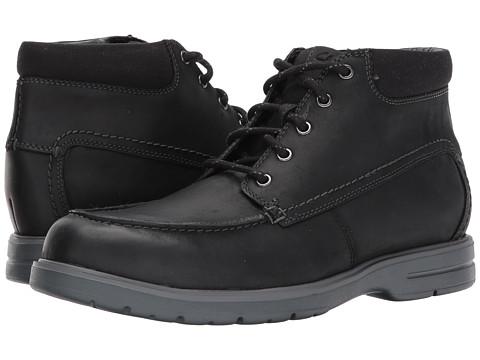 Incaltaminte Barbati Clarks Vossen Mid Black Leather