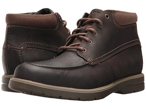 Incaltaminte Barbati Clarks Vossen Mid Dark Brown Leather