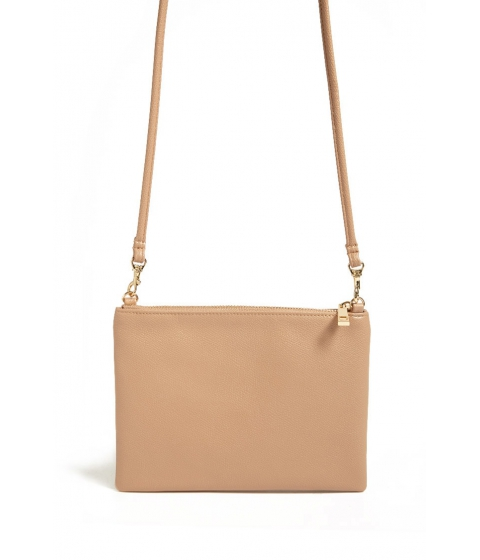 Genti Femei Forever21 Faux Leather Crossbody Bag TAUPE