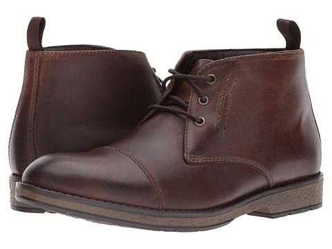 Incaltaminte Barbati Clarks Hinman Mid Mahogany Leather