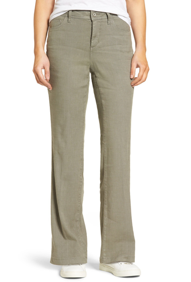 Imbracaminte Femei NYDJ Wylie Five-Pocket Linen Trousers SERGEANT O